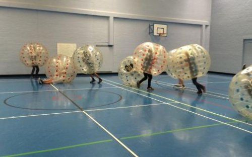 Bubble Football, February 2017