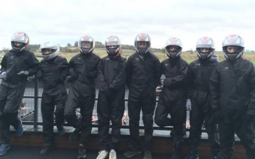 Go-Karting with the Fifth Form, March 2017