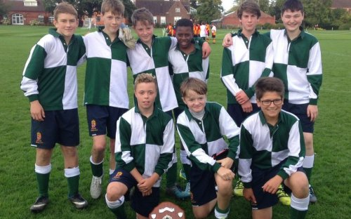 Ingram's Hall - winners of the Inter-House Third Form Football Tournament 2017!