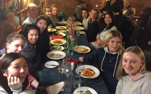 Meal with the Fifth Form