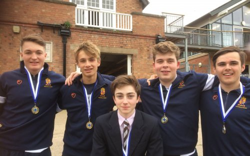 Oldham's rowers retain the Senior IVs title beating all Houses - with clear water in every race. Well done Lucas, Ben, Tom, Ali and cox Archie.