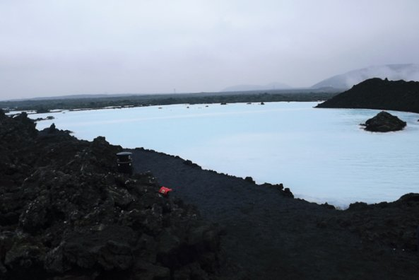 The Blue Lagoon, quiet after closing time
