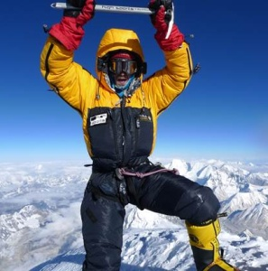 Adam Booth (PH 1995-2000) on Everest, 13th May 2013