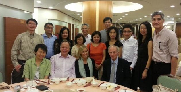 Friends of Shrewsbury School (Hong Kong) Dinner, September 2013