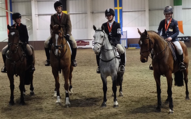 NSEA National Championships 2013 - Scott Walker, Archie Lywood, Tom Tulloch and Hugh Davies