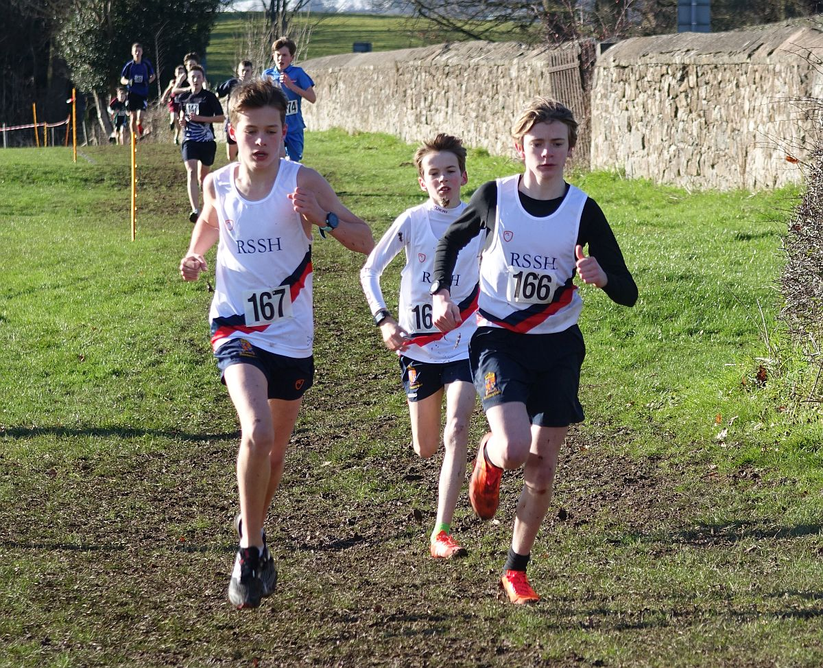 Will Singleton, Archie Collings and Ben Weston